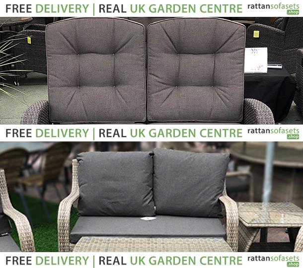 2 Seater Rattan Sofas