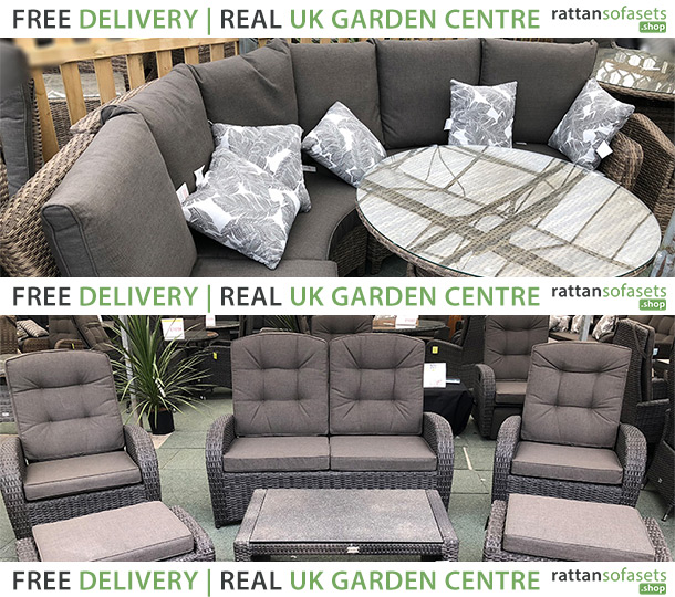 4 Seater Rattan Sofa Sets