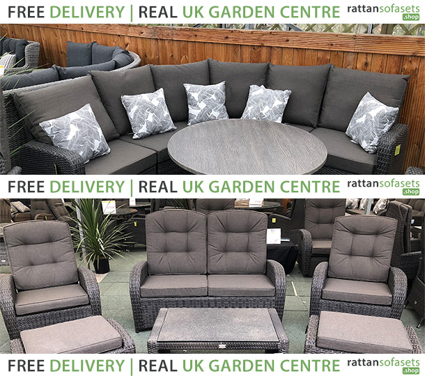 6 Seater Rattan Sofa Sets