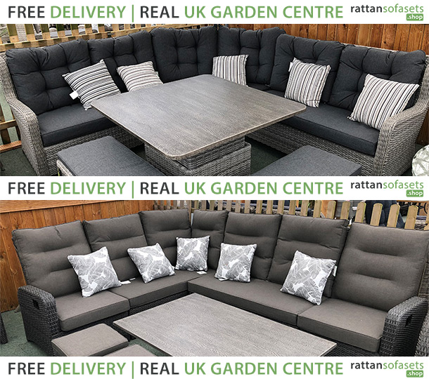 8 Seater Rattan Sofa Sets