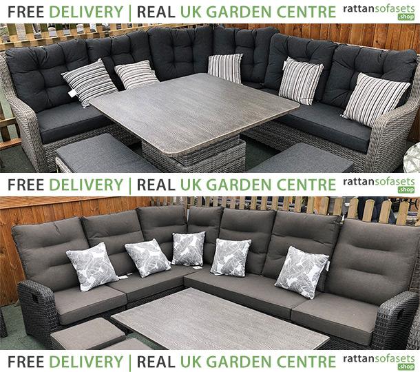 8 Seater Rattan Sofa Sets