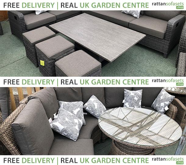 Modular Rattan Sofa Sets
