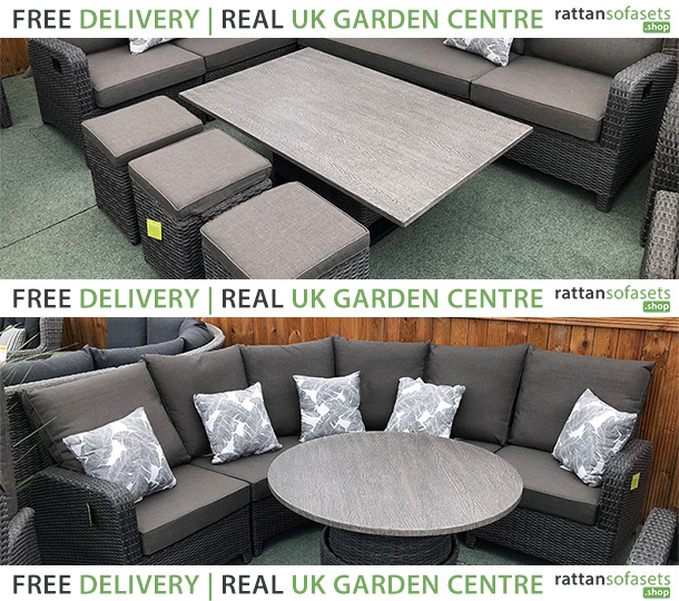Rattan Sofa Dining Sets